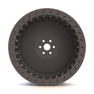 Fclassic - forward-curved double width fan wheel